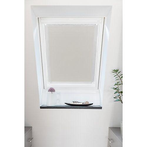 Lichtblick Dachfenster Sonnenschutz Haftfix, ohne Bohren beige
