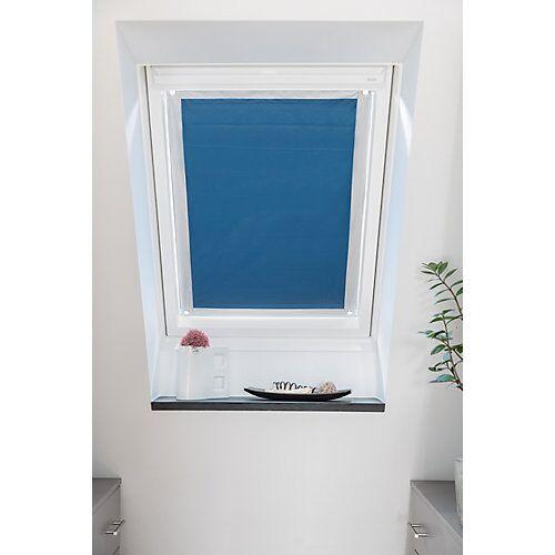 Lichtblick Dachfenster Sonnenschutz Haftfix, ohne Bohren blau
