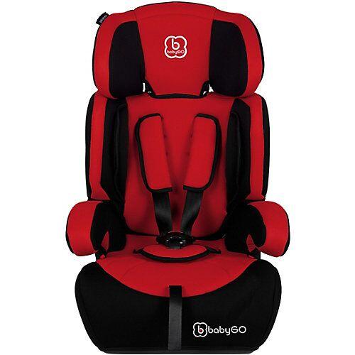 BabyGO Auto-Kindersitz Motion, rot