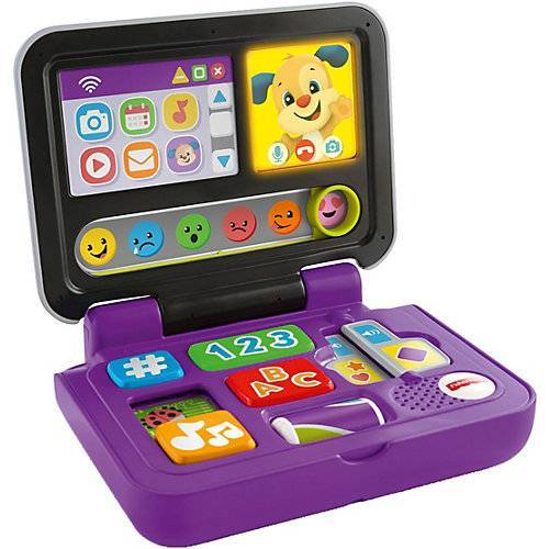 Mattel Fisher-Price Lernspaß Hündchens Laptop