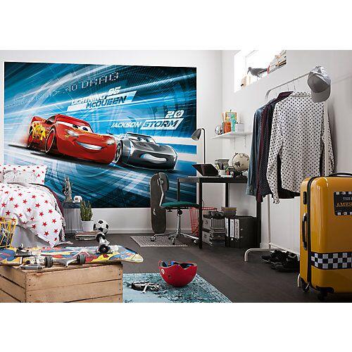 "KOMAR ""Fototapete """"Cars 3 Simulation"""", 254 x 184 cm"""