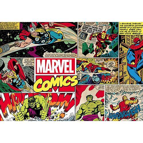 Decofun Fototapete Marvel Comics, Vlies, 190 x 276 cm