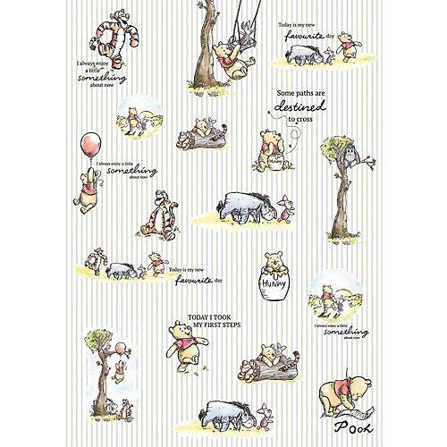 KOMAR Vlies Fototapete - Disney Winnie Pooh, 200x280 cm