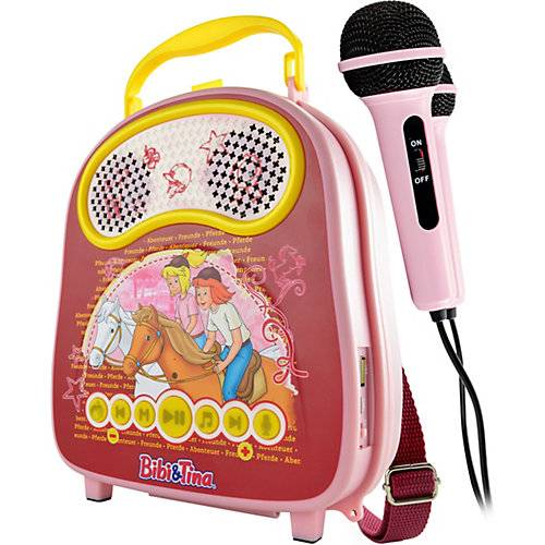 X4-TECH Bibi & Tina Karaoke-Anlage Bobby Joey Casey Music