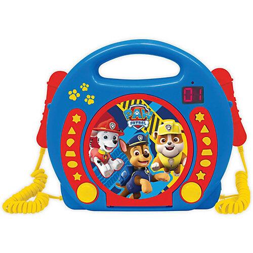 LEXIBOOK PAW Patrol Kinder CD-Player mit 2 Mikrofonen blau-kombi