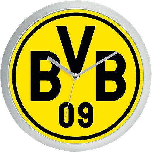 Borussia Dortmund BVB Wanduhr BVB gelb
