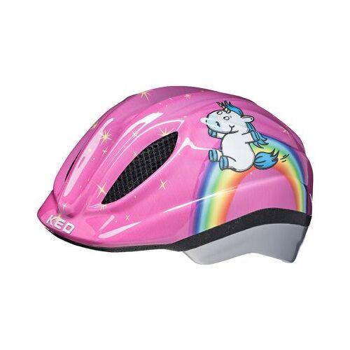 KED Helmsysteme Einhorn Fahrradhelm Meggy Originals pink
