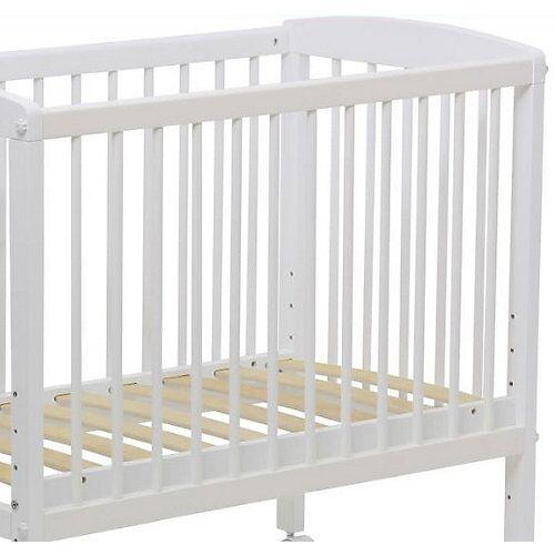 Polini-kids Seitenschutz Beistellbett Simple 100, weiß, 3048.1-04  Kinder