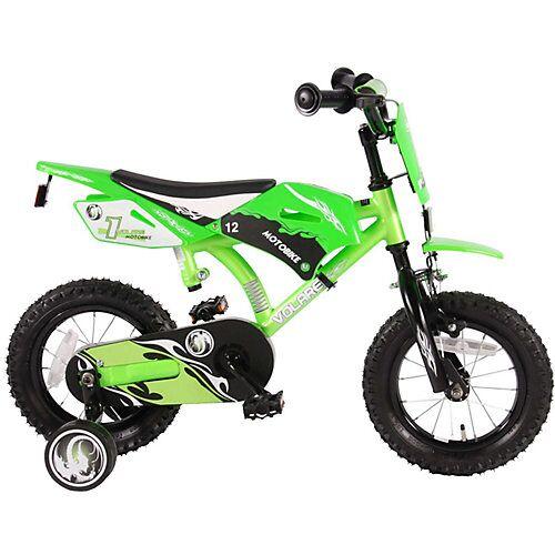 Volare Motobike Kinderfahrrad - Jungen - 12 Zoll - Grün - grün