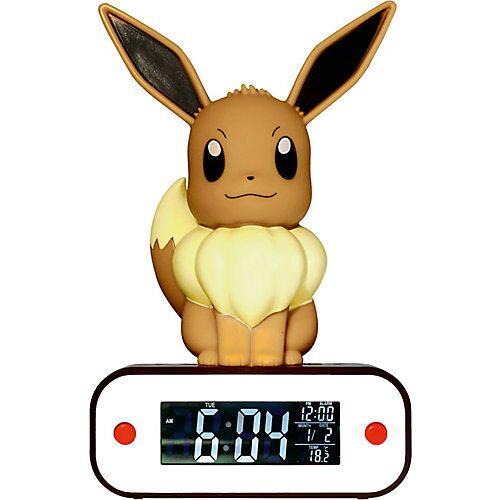 "Pokemon ""POKÉMON - Digitaler Wecker """"Evolie""""als LED-Lampe"""
