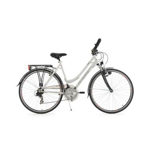 KS Cycling 28  Zoll Trekkingrad Damenfahrrad Vegas 21 Gänge Trekkingräder, Rahmenhöhe: 53 cm weiß