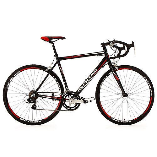 KS Cycling 28 Rennrad 14 Gänge Euphoria schwarz Rennräder, Rahmenhöhe: 53 cm