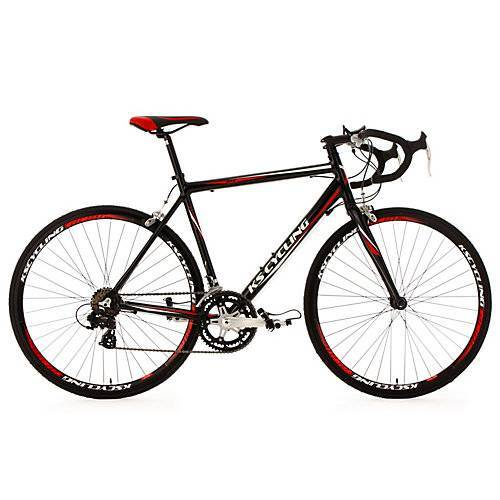 KS Cycling 28 Rennrad 14 Gänge Euphoria schwarz Rennräder, Rahmenhöhe: 55 cm