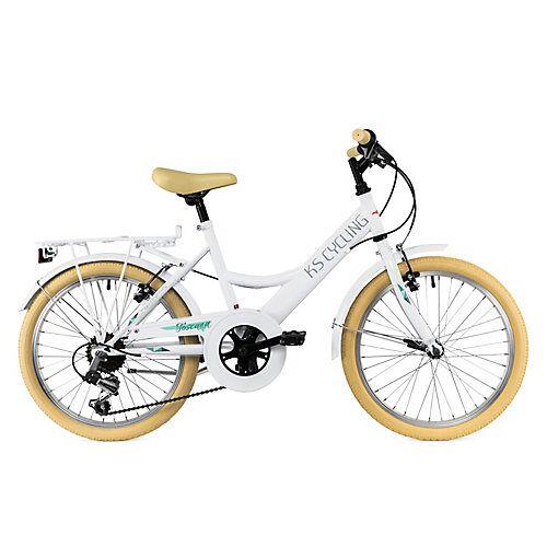 KS Cycling Kinderfahrrad 20'' Toscana RH 36 cm Fahrräder, Rahmenhöhe: weiß