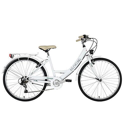 KS Cycling Damenfahrrad Cityrad 6-Gänge Toskana 26 Zoll Cityräder, Rahmenhöhe: weiß