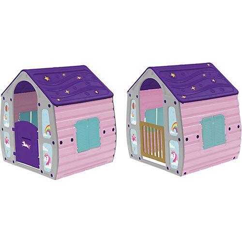 STARPLAST Magical Spielhaus im Einhorndesign
