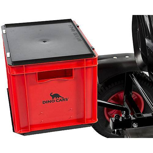 Dino Cars Transportbox rot