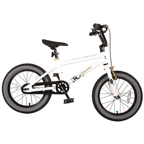 Volare Cool Rider Kinderfahrrad - Jungen - 16 Zoll - Weiß weiß