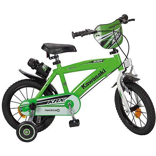 Toimsa Bikes Fahrrad Kawasaki 14 Zoll grün