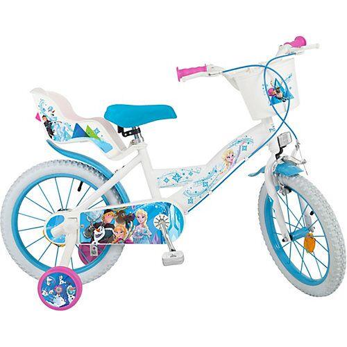 Toimsa Bikes Fahrrad Disney Eiskönigin, 16 Zoll türkis