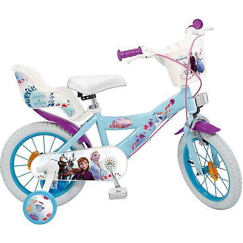 Toimsa Bikes Fahrrad Disney Eiskönigin II 14 Zoll türkis