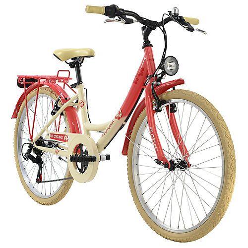 KS Cycling Kinderfahrrad 24'' Kahuna Fahrräder, Rahmenhöhe: rot