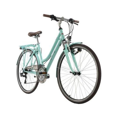 KS Cycling 28  Zoll Trekkingrad Damenfahrrad Vegas 21 Gänge Trekkingräder, Rahmenhöhe: 48 cm grün
