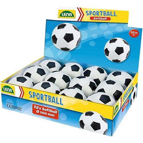 LENA Soft-Fußball 10 cm, 12 Stück