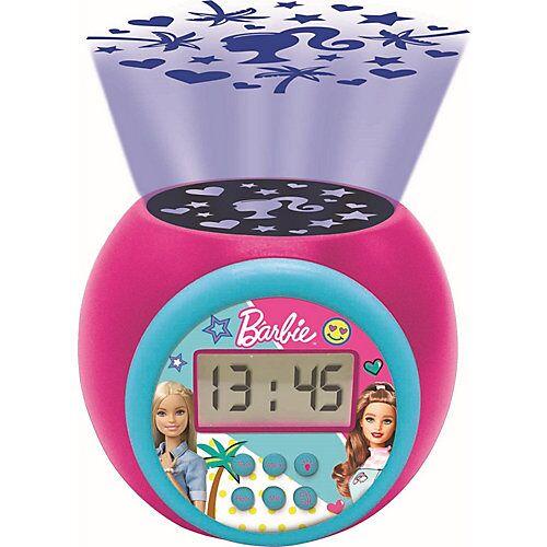LEXIBOOK Barbie Wecker mit Projektion rosa