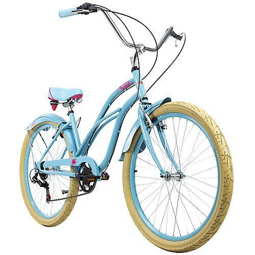 KS Cycling Beachcruiser 26 Zoll Splash 6 Gänge Beachcruiser, Rahmenhöhe: blau