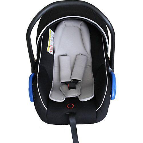 Qeridoo Babyschale Fahrradanhänger Kidgoo schwarz  Kinder
