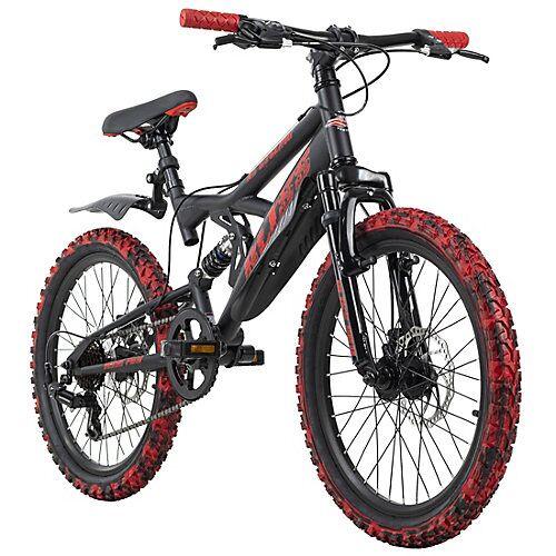 KS Cycling Kinderfahrrad MTB 20'' Bliss Pro Fahrräder, Rahmenhöhe: rot
