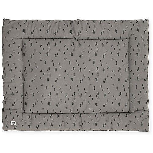 Jollein Krabbeldecke, 80 x 100 cm, Spot storm grey grau