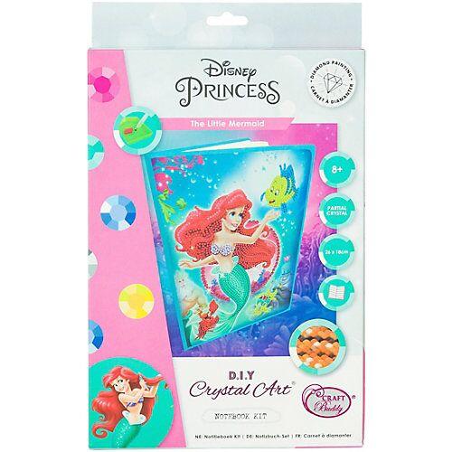 CRAFT Buddy Crystal Art Disney Ariel - The Little Mermaid, Kristallkunst-Notizbuch