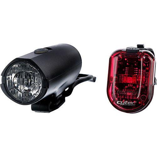 CYTEC Fahrradlampe 25 LUX USB schwarz