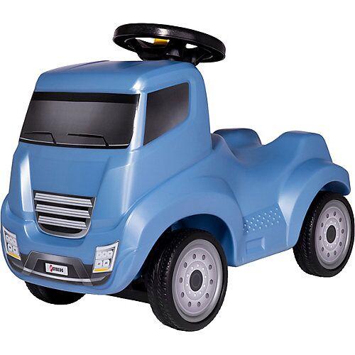 Ferbedo Truck Bio, mit Hupe und Anhängerkupplung blau