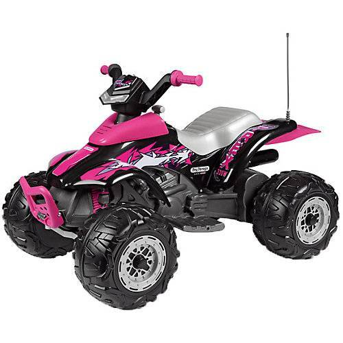 Peg Perego Quad Corral T-Rex Pink 330W pink-kombi