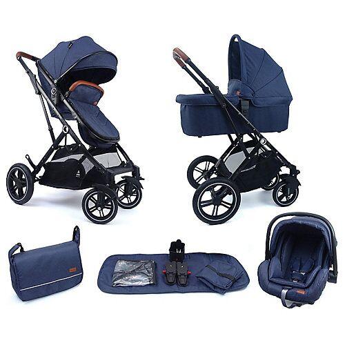 Pixini Kinderwagen 3in1 Lania Babywagen blau