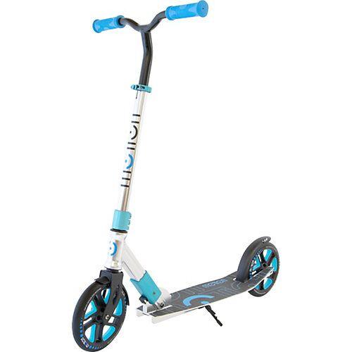 Scooter Speedy, 200 mm Rollen, silber/blau silber-kombi