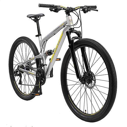 bikestar Fahrrad Fully 29 Zoll Alu MTB grau