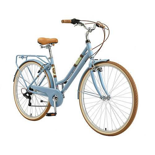 bikestar Fahrrad Damen Alu City 28 Zoll blau