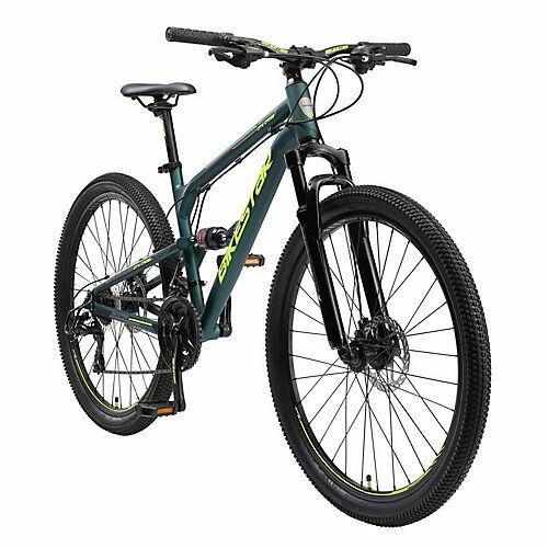bikestar Fahrrad Fully 27 Zoll Alu MTB grün