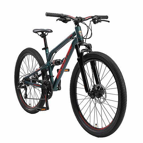 bikestar Fahrrad Fully 26 Zoll Alu MTB grün