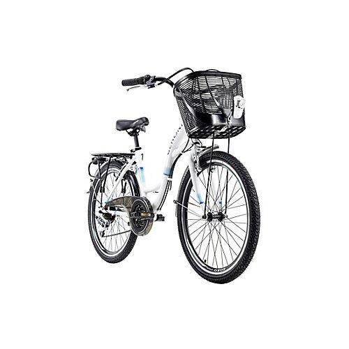 KS Cycling Kinderfahrrad 24'' Geroni Siro Fahrräder, Rahmenhöhe: weiß