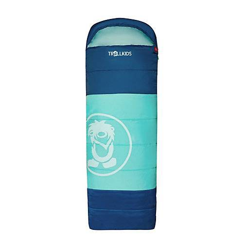 TROLLKIDS Kinder Schlafsack Midnight Sun Dreamer Schlafsäcke blau/grün
