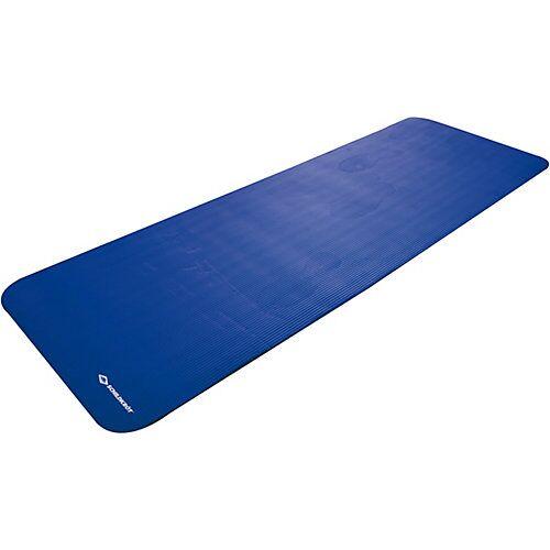 Schildkröt-Fitness Fitnessmatte XL mit Tragegurt, 15 mm, blau