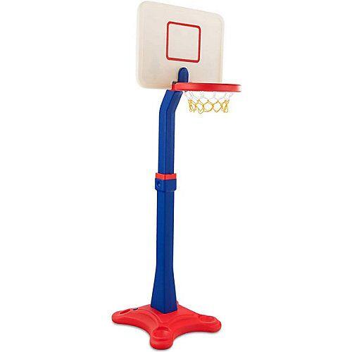 COSTWAY® Basketballstaender Kinder mit Staender rot/weiß