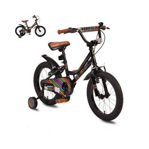 byox Kinderfahrrad Little Princess Fahrräder schwarz