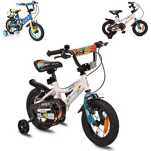 byox Kinderfahrrad Prince Fahrräder weiß