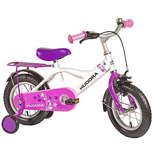 HUDORA Kinderfahrrad RS-4 2.0, 12 Zoll lila pink